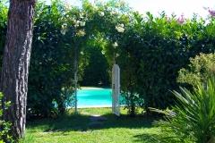 il giardino del b&b il Casale