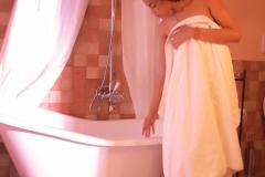 camera coloniale - il bagno